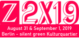 Z2X19 August 31 & September 1, 2019 Berlin - silent green Kulturquartier